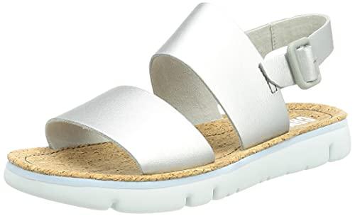 Camper Damen Oruga Sandal, Grey, 39 EU