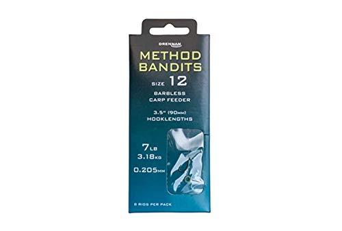 Drennan Method Bandits Carp Feeder 35 Hooklengths 8
