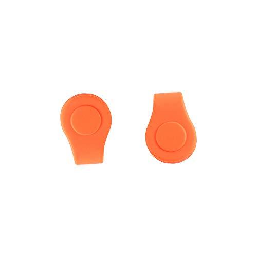 Homehome 2 clips de silicona para gorra de golf,clip de posición de...