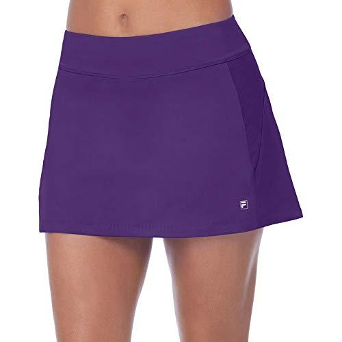 Fila Women's Core A-Line Skort, Team Purple, L