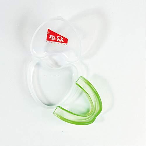 QWEA Einseitiger Sportmundschutz/Aufprallschutz für Lippen und Zähne/Schutz für Erwachsene und Kinder Fußball, Lacrosse, Basketball, Boxen, Kampfsport und mehr