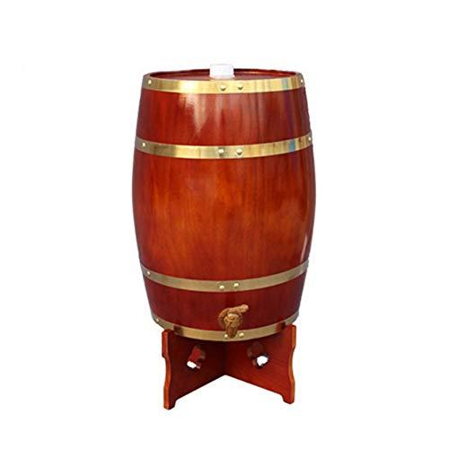 OhLt-j 10L barricas de Roble Barril de Madera, con Grifo de Cerveza roja de Vino Barrica de Roble de almacenaje del Vino, licores y Cerveza de Barril
