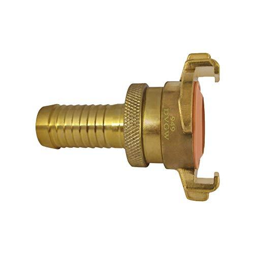 Messing GK Saugkupplung Trinkwasser 1 Zoll / 25 mm Schnellkupplung DVGW