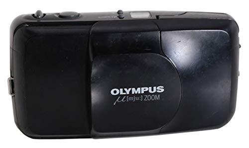 Olympus MJU Zoom 35-70 mm Kleinbildkamera in schwarz