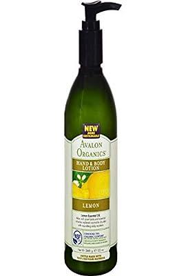Avalon Organics Refreshing Lemon Hand & Body Lotion, 12 oz.