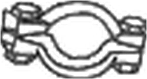 Bosal 254-371 Pièce de serrage, échappement