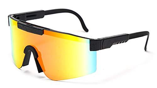 2021 Nuevas Gafas De Sol, Gafas a Prueba De Viento Al Aire Libre, Gafas De Sol Deportivas con Comodidad para Ciclismo Béisbol Correr Conducción De Golf B