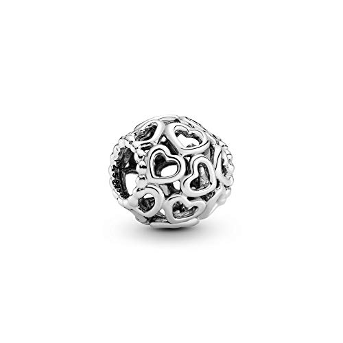 Charm Un Regalo Dal Cuore.Pandora Jewelry Hearts All Over Charm In Sterling Silver