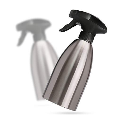 Julymall 500ML Edelstahl-Öl-Spray-Flasche Küche Olivenöl Sprayer für Barbecue Olive Pump-Zerstäuber Grill-Picknick Speiseöl Sprayer (1)
