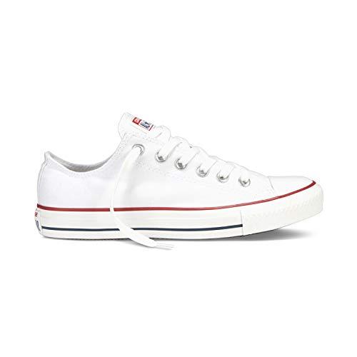 Converse Chuck Taylor All Star Unisex Canvas Schuhe mit 7kmh Aufkleber Weiss 36