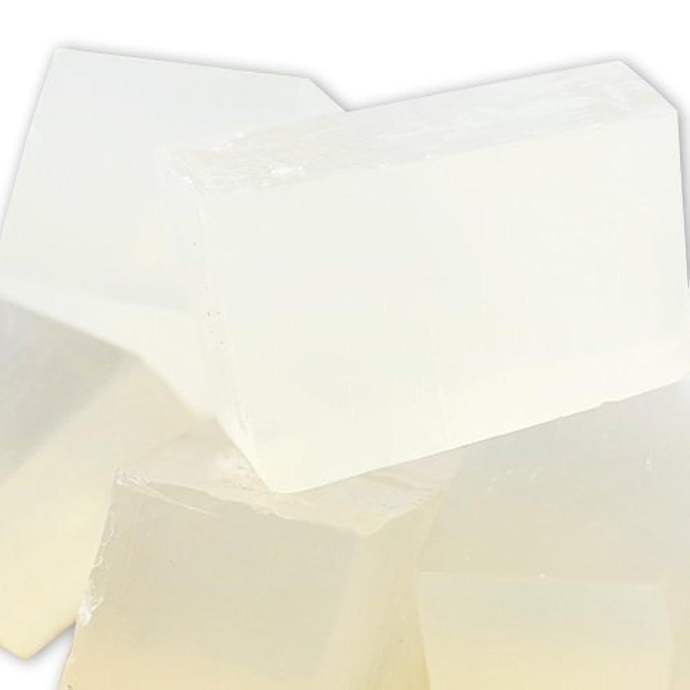 ライセンスプロットアスペクトMPソープ [グリセリンソープ] クリア SLSフリー 1kg 【手作り石鹸/ハンドメイドソープ】