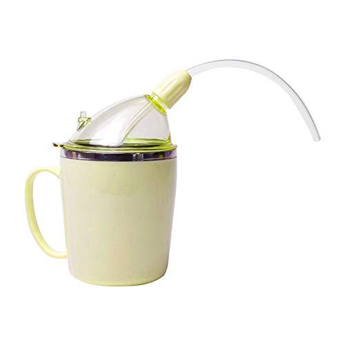 Trinkbecher Mit Strohsicherem, Rekonvaleszenz Fütterungsbeche, Trinkhilfen Sippy Cup Für Ältere Menschen, Senioren, Behinderte, Behinderte