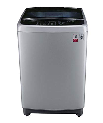 LG 8 kg Inverter Fully-Automatic Top Loading Washing Machine (T9077NEDL1, Free Silver)