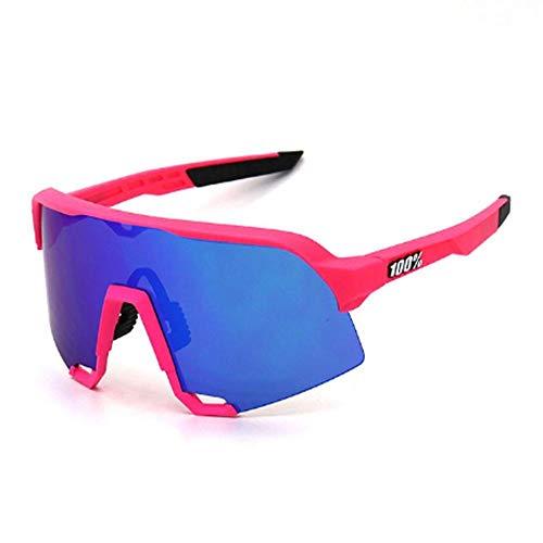 Mannen en vrouwen gepolariseerde buitensporten spiegel voorruit 100% S3 zonnebril UV400 HD-bril
