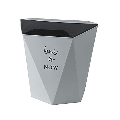 Cubo De Basura Plegable Para Colgar En La Pared Cubo De Basura De Cocina Cubo De Basura Con Tapa Contenedor De Almacenamiento De Desechos De Cocina Para El Hogar,3
