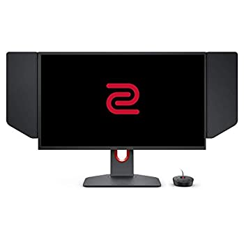 BenQ ZOWIE XL2546K 24.5 inch 240Hz Gaming Monitor | 1080P | DyAc+ | Smaller Base | Flexible height & tilt adjustment | XL Setting to Share | Customizable Quick Menu | S-Switch | Shield