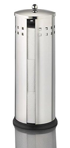 Ribelli WC-Ersatzrollen-Box, 3 Rollen Klopapierhalter Klopapier Toilettenpapierhalter
