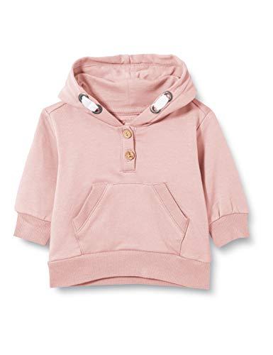 bellybutton Baby-Mädchen Sweatshirt T-Shirt, Silver pink Rose, 86