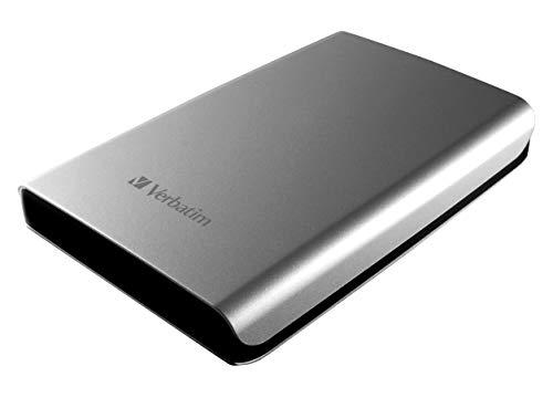 Verbatim Store 'N' Go - Hard Disk Esterno Portatile, USB 3.0, Argento, 500 GB