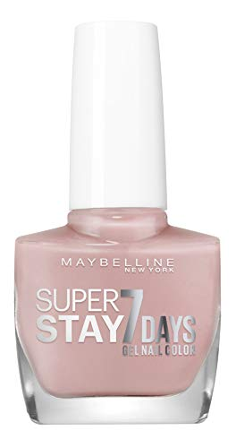 Maybelline New York – Vernis à Ongles Professionnel – Technologie Gel – Super Stay 7 Days – Teinte : Rose Poudre (130)