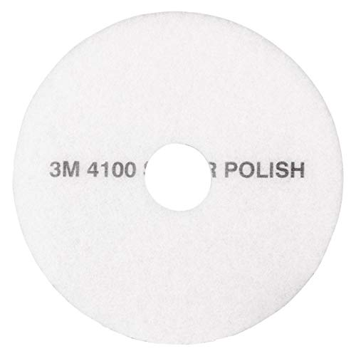 3M White Super Polish Pad 4100, 17