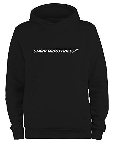 Styletex23 Kapuzenpullover Stark Industries Logo, schwarz M