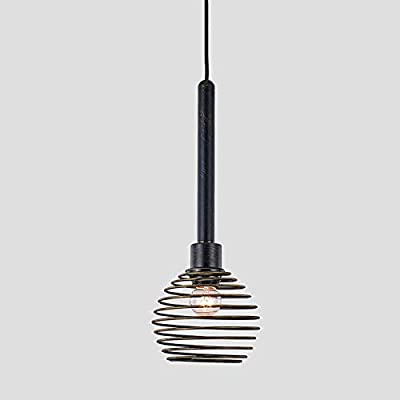 Black Industrial Pendant Lighting Metal Vintage...