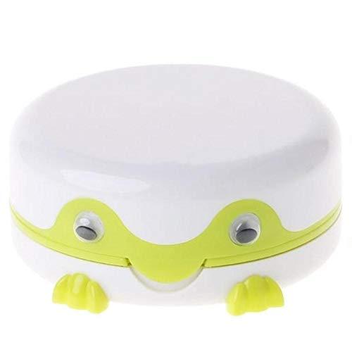 Lankater Automatische Kontaktlinsenreiniger Reiniger Fall, Frosch Kontaktlinsenbehälter, Elektrisches Kontaktlinsen-reinigungsgerät, Für Männer Frauen