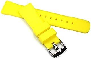Cinturino per orologio in silicone caucciù per immersioni, sportivo e robusto