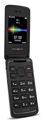 swisstone SC 660 Dual-SIM Mobiltelefon schwarz