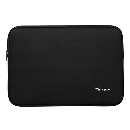 Targus Bonafide Sleeve Modern Style with Durable Water-Resistant College School Case fit up to 14-Inch Laptop/Notebook, Black (TBS927GL)