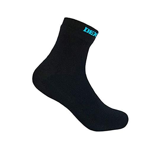 Dexshell Wasserdichte Ultra dünne Socken, schwarz, Knöchel, L