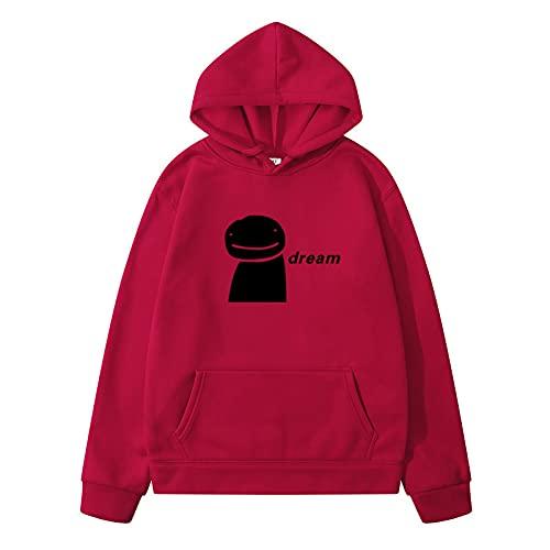 NC Primavera Y Otoño Moda Casual para Hombres Deportes Cómodo Dreamwastaken Estampado Estampado Suéter con Capucha XL