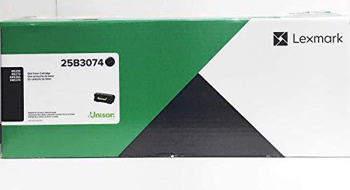 Lexmark 25B3074 M5255 M5270 XM5365 XM5370 Toner Cartridge (Black) in Retail Packaging