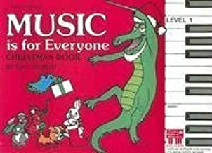 Music Is for Everyone Christmas Book, Level 1