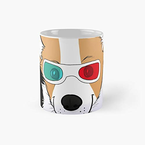 3d Corgi Classic Mug Best Gift Funny Coffee Mugs 11 Oz