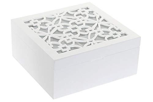 Dream Hogar Caja te infusiones organizadora 6 Compartimentos Transparente