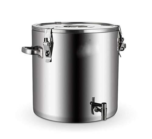 Catering Warmwasser Eimer Tee Tank Wasserspender mit Hahn heißem Wasser Milchtee Kaffee Saft Familie Verwendung von kommerziellem Einsatz im Büro nach Hause und Küche kochen 10L, 20L, 30L sammeln, 40L
