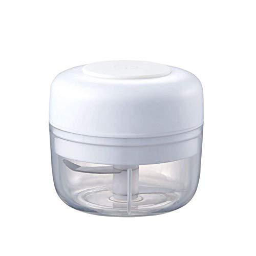DHTOMC Juicer alimento eléctrico Chopper procesador Mezclador Blender Pimienta ajo condimento de café Grano Grifo Nuez Tuerca Carne molienda Cocina Gadgets Blanco Xping (Color : White)