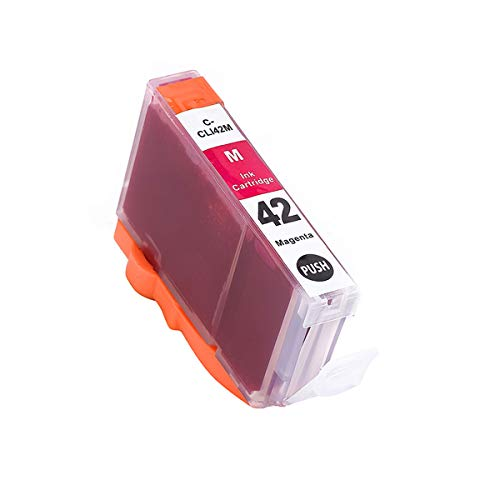 ArtiTech CLI-42 M Pixma Pro-100 Compatible Ink Cartridges Replacement for Canon CLI42 CLI-42 Magenta Ink Cartridge Work for Pixma Pro-100S Printers,2 Pack CLI-42 M Photo #2