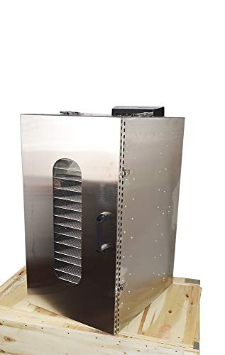 TECHTONGDA 20 Layers Commercial Food Dehydrator Dryer 304 Stainless Steel Air Dry Machine Fruit Vegetable Pet Meat