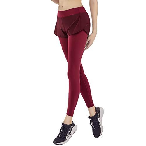 LHY- Yoga kleding Fitness kleding, dunne joggingbroek Tight-fitting stretch running sneldrogende yoga broek Comfortabel