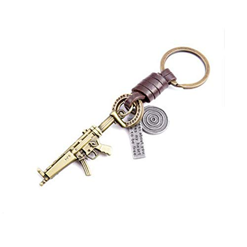 Learn More About SMVISON Cute DIY Handmade Retro Alloy Weave Leather Car Key Chain for Girls Friends...