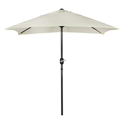 Aktive Garden 53879 - Parasol Rectangular, 120 x 200 cm, Má