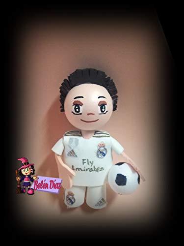 Broche Real Madrid fofucha 10 cms. personalizado