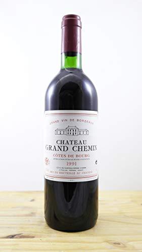 Wein Jahrgang 1991 Château Grand Chemin Flasche