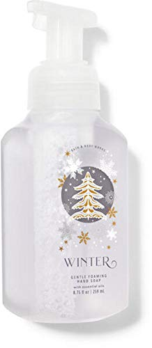 White Barn Candle Company Bath and Body Works Gentle Foaming Hand Soap w/Essential Oils- 8.75 fl oz - Winter 2020 - Many Scents! (Winter)