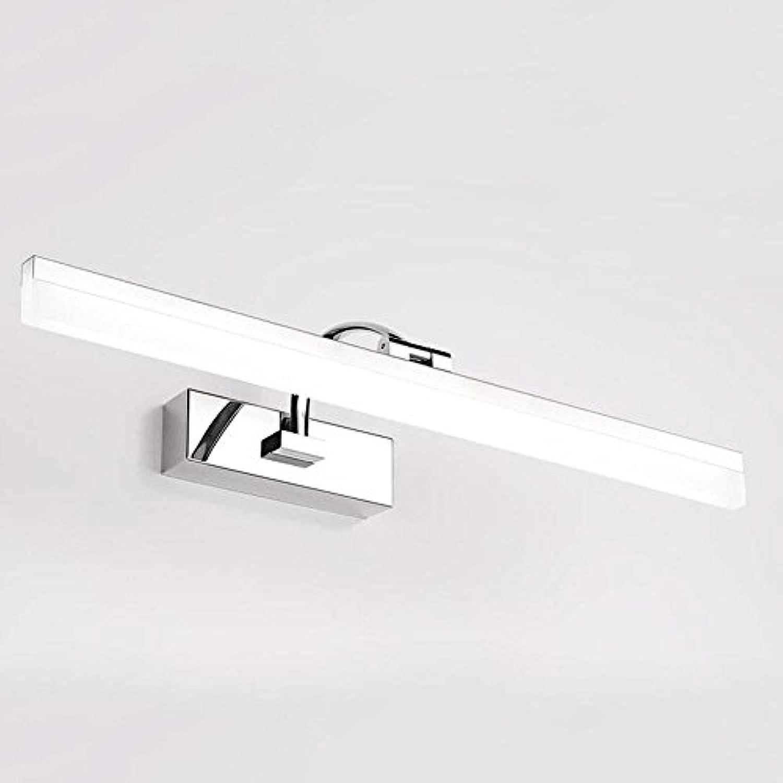 JQD Hauptbadezimmer-Spiegel-Scheinwerfer-Spiegel-vordere helle Wasserdichte Anti-Fog-Badezimmer-Licht-Birne umfate die enthaltene Birne, Spiegel-Scheinwerfer