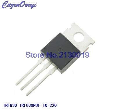 10 teile/los IRF830 IRF830PBF MOSFET N-Chan 500 V 4,5 Ampere TO-220 neue original Auf Lager