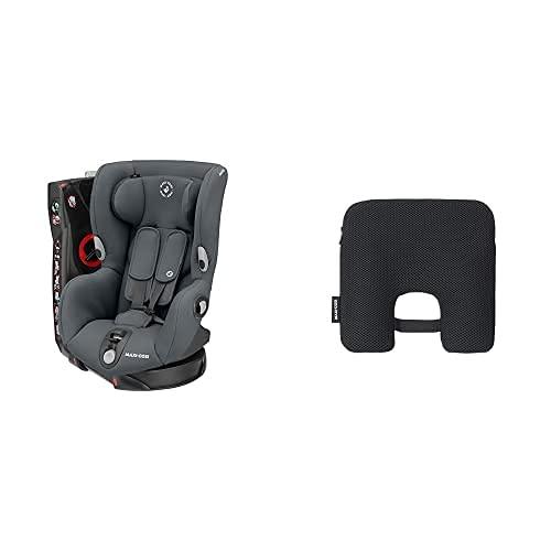 Maxi-Cosi Axiss Seggiolino Auto 9-18 Kg, Girevole e Reclinabile, 8 Comode Posizioni, Gruppo 1, 9 Mesi-4 Anni, Grafite + E-Safety Dispositivo Anti...